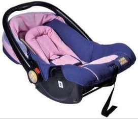 MeeMee Canopied Car Seat Cum Carry Cot Baby Car Seats Car Seat  (Pink)
