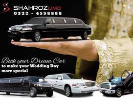 Lincoln Limousine,Prado,v8 available for Rent #Shahrozlimo
