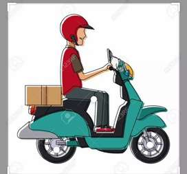 Delivery boy required urgently