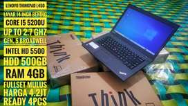 Laptop Lenovo Thinkpad L530 murah berkualitas
