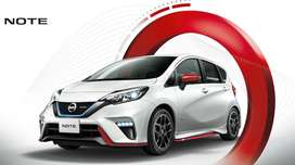 Nissan Note 2019 modal in easy instalment