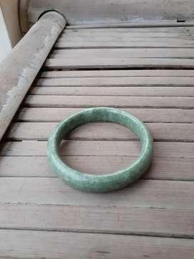 Natural gelang batu giok asli jadeite jade type A