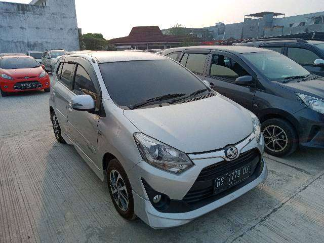 Toyota Agya G Matic 2019 (harga lelang) 0
