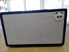 Wired bluetooth speaker