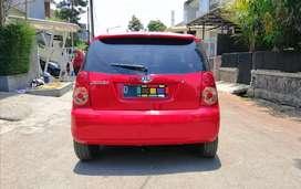 Kia Picanto SE Manual 2008 Merah MT, Unit Mulus Siap Pakai, DP 17 Juta