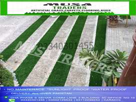 Artificial grass for home decors making green enviroments.