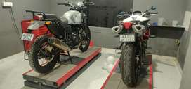 Installation of Motorcycle accessories, Electrician