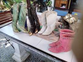 Italy boots /size 36 1/2 Italian 1970 very good kondition