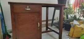 Burma teak Study or office table for sale