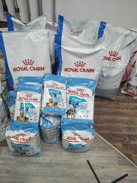 Royal Canin and Happy Dog Available