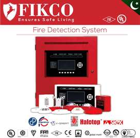 Fire Alarm System/ Smoke & Heat Detectors and all fire extinguisher