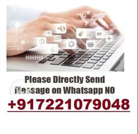 20 PAGES Type And Earn 7000 Rs.    100% Daily Payout.!!