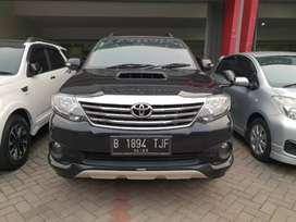Toyota Fortuner G at diesel TRD 2013, dp 18jt saja