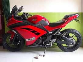 Ninja 250 fi Merah ISTIMEWA mulus no pr pajak panjang (nego)