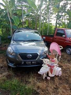 Mulus Datsun go+ 2016 pemakaian istri sangat terawat ac dingin bs TT