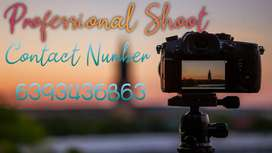 Professional shoot Of video and photo