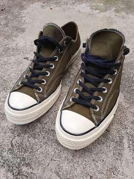 Sepatu converse all star 70s low green