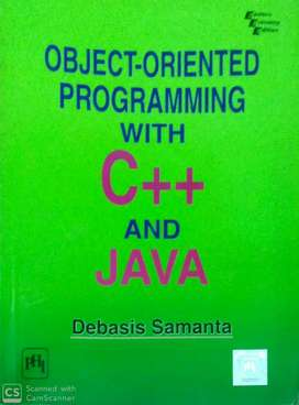 Object-Oriented Programming with C++ and Java   MRP:- ₹225.00 CP- ₹89