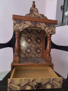 Wooden pooja temple