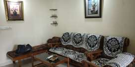 2 BHK furnished A/C flat for rent at Sasthamangalam.