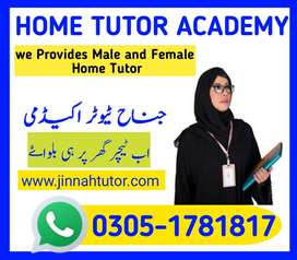 Male Tutor available from KG-Matric / Home Tutor in G-6 isb