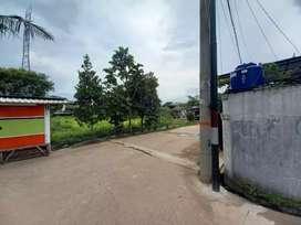 Tanah gudang kavling dpr cipondoh blok c