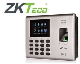 K40 ZK Teco Biometric Finger Print Device - Time Attendence Machine