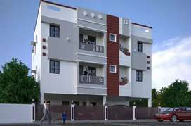 C m d a flat for sale behind all India radio sync.