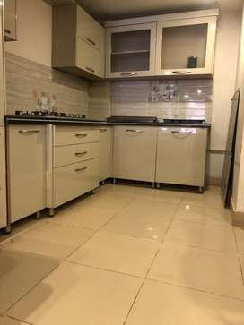 Kitchen cabinet with appliances