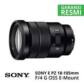 Lensa sony e 18 105mm G OSS f4 cash dan kredit