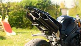 Toce exhaust for benelli 600i with fitting