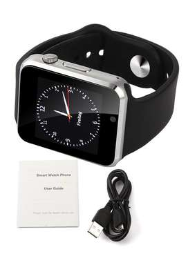 A1 Smart Watch Sim Supported - Silver