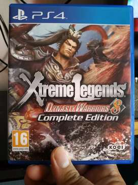 Di jual kaset PS 4 Dynasty warrior 8 extreme legends