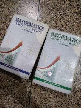 RD Sharma- Maths class XII