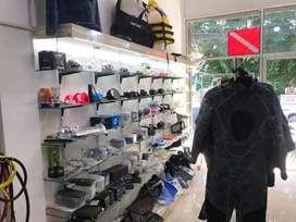 Lowongan staff admin toko online dan offline peralatan selam
