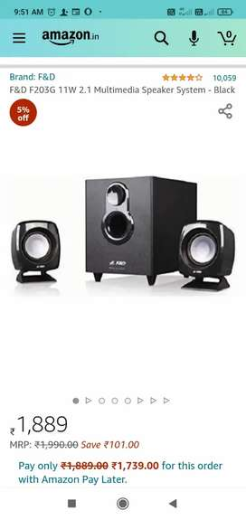 F&D HOME THEATRE FOR SELL