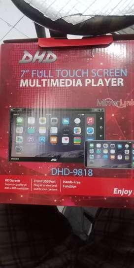 Dhd dbdin fulglass bisa dvd mirrorlink komplit kamera free pasang