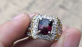 Dijual vivid purple spinel 2.79 crt