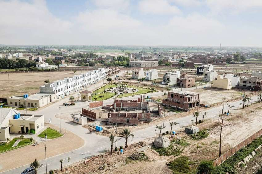 5 Years Easy Installments 1 Kanal Plot File For Sale In Al Noor Orchar