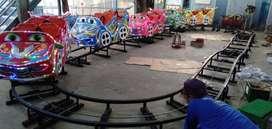 Jual kereta mini roller coaster fiber EK odong bagus asli