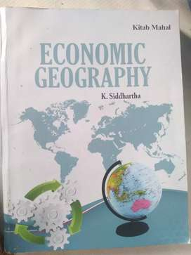 Economic Geography ,K. Siddhartha , 2018 latest edition