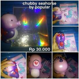 Squishy chubby seahorse by popular