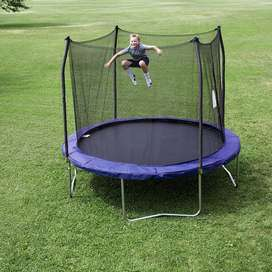 Trampoline 10 Feet Round Trampoline and Enclosure with spring