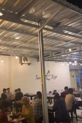 oper alih tempat usaha/cafe