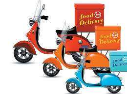 Delivery boys for food delivery company