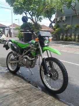 KLX BF 150 low km masih original semua 2018 lokasi Bali