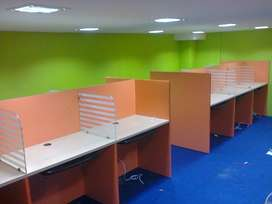 Bpo and IT company workstation tables