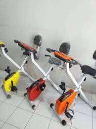 Sepeda statis fitness X bike magnetic TL 920 BN528