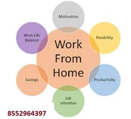 Use this boring time night shift simple english typing work