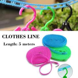 5 Meter Clothesline Windproof High Quality Practical Portable Outdoor